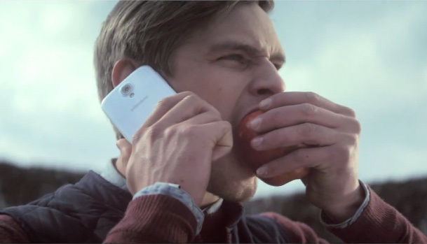 samsung bite apple