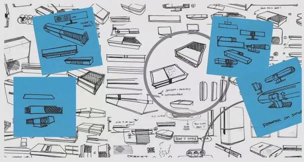 xbox one prototype sketch