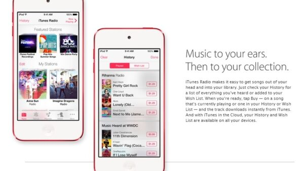 Apple iTunes Radio features 3
