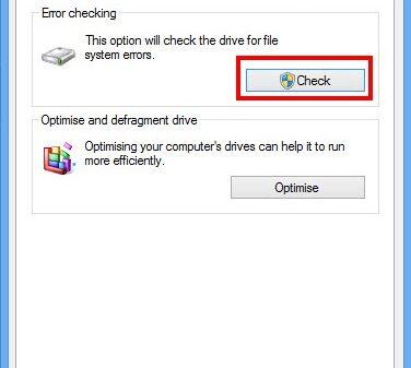 Check error 2