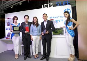 HP เปิดตัว HP SlateBook x2, HP Slate 7 และ HP Slate 21 All-in-One ในไทย