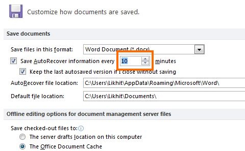 MS Word Save 3