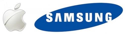 apple samsung logos