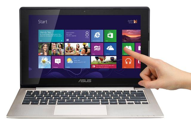 โน๊ตบุ๊คจอสัมผัส ทัชสกรีน หน้าจอสัมผัส Touchscreen Notebook