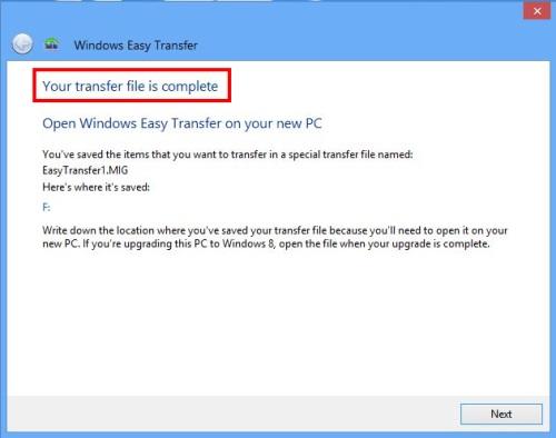 easy transfer 11