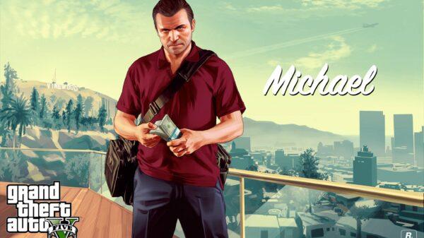 261402 grand theft auto gta 5 michael with money