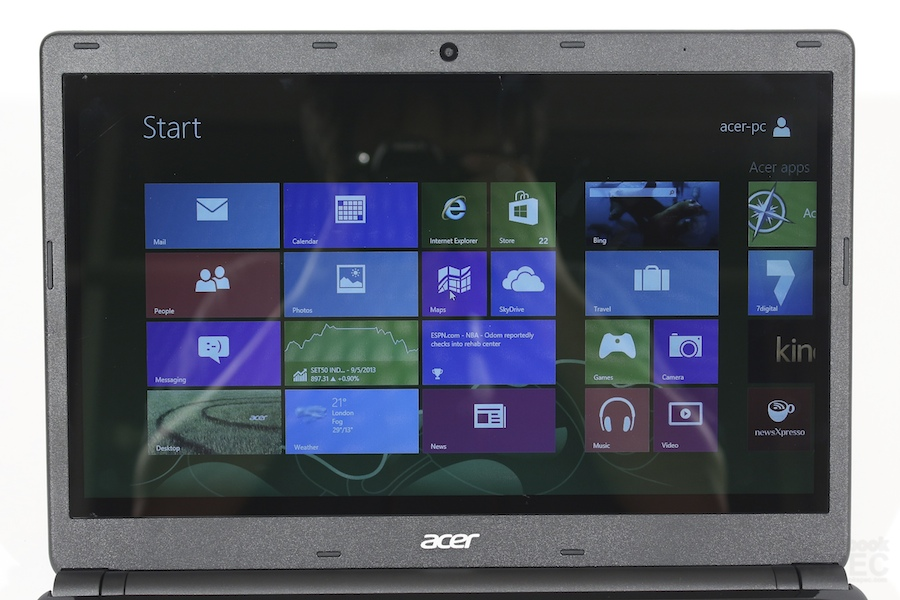 Acer Aspire E1 470PG Review 009