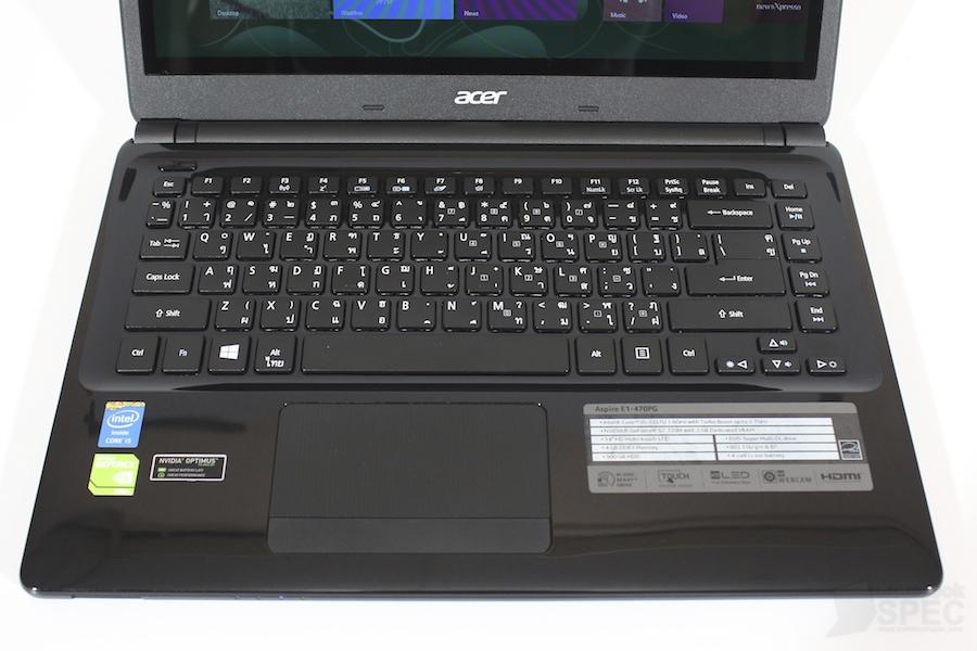 Acer Aspire E1 470PG Review 014