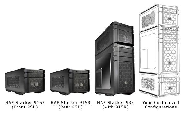 Cooler Master HAF Stacker 01