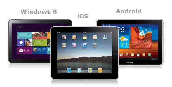 ipad android windows 8