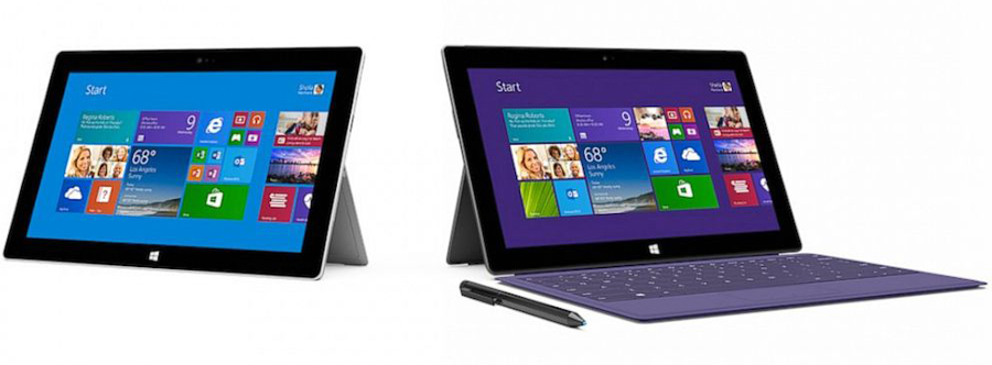 Announces Surface 2 and Surface Pro 2 Tablets Surface 2 Line