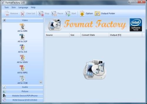 FormatFactory