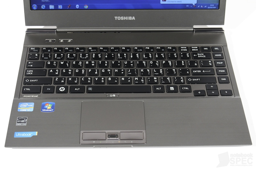 toshiba ultrabook portege how to connect keyboard