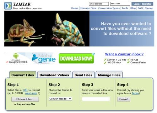 Zamzar Online 1