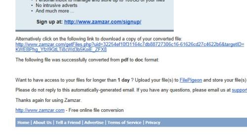 Zamzar Online 8