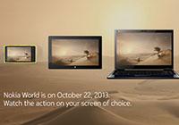 Nokia เผยรูปชิมลางเล็กน้อย สำหรับเครื่องรุ่นใหม่ๆ ที่จะเปิดตัวในงานวันที่ 22 ตุลาคมนี้