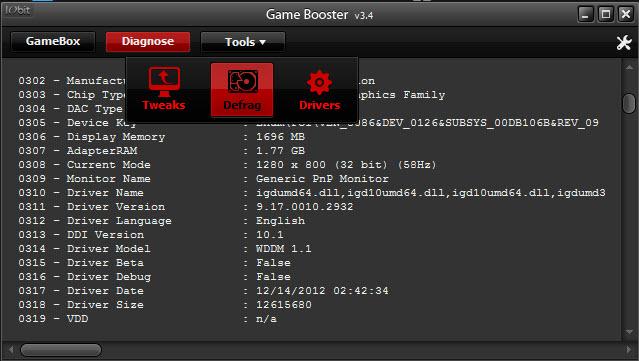 GameBooster AdvanceSystemCare 5