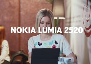 Nokia ออกโฆษณาแท็บเล็ต Lumia 2520 กัด iPad Air ในเรื่องไม่มีคีย์บอร์ดกับแบตไม่อึดเท่า