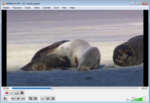 VLC Convert file 1