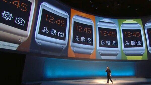 Samsung Galaxy Gear Launch