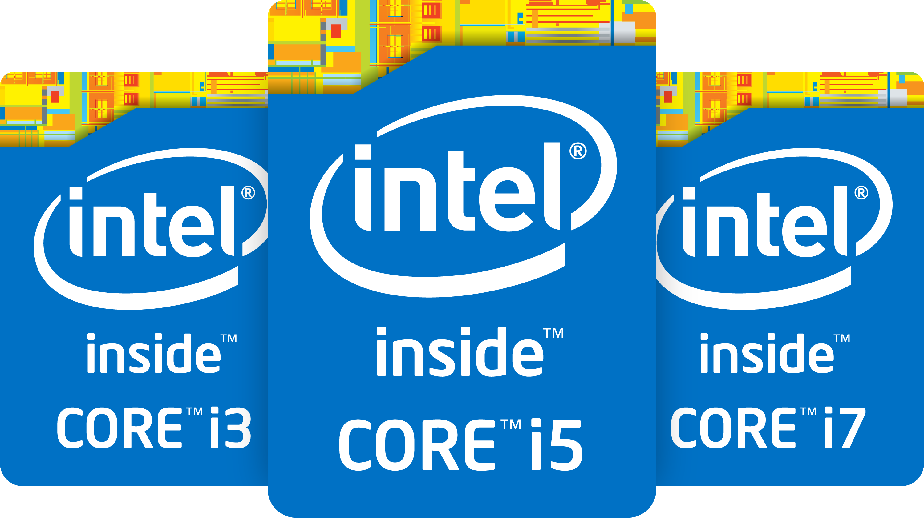 4th gen core processor badges stacked