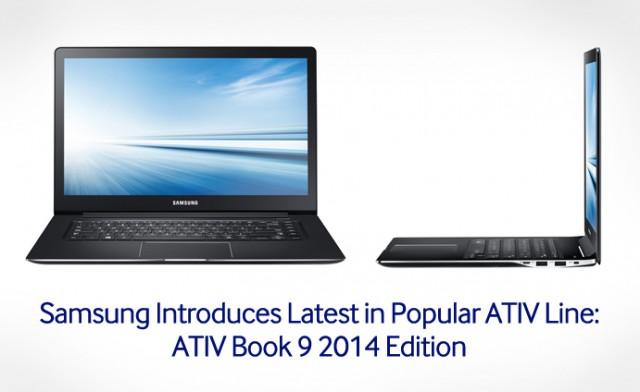 Samsung ATIV Book9 2014 Edition main