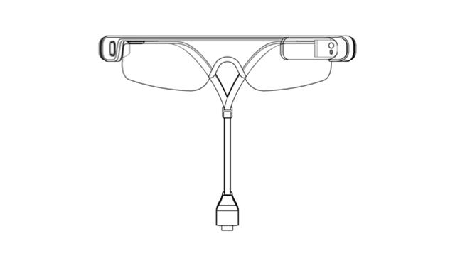 Samsung Sport Glasses Design Patent 3