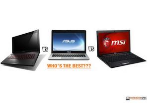 Lenovo Y410P ปะทะ Asus N46JV และ MSI GP60 20D ในงบ 30,000 ใครคุ้มกว่ากัน
