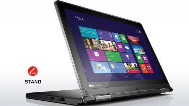 lenovo laptop convertible thinkpad yoga silver stand mode 7