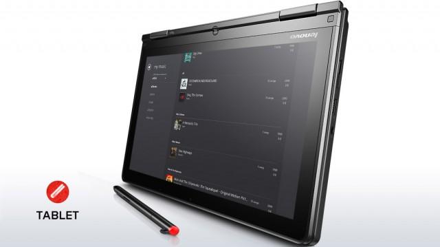 lenovo laptop convertible thinkpad yoga silver tablet mode 6