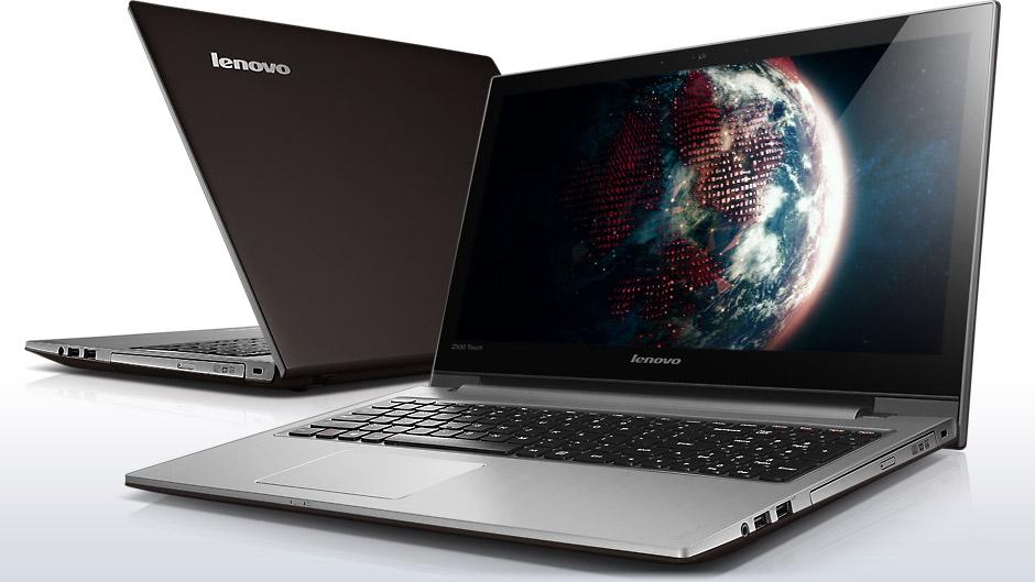 lenovo laptop ideapad z500 touch front back 1