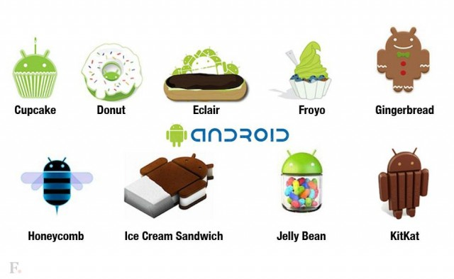 01 Android all versions