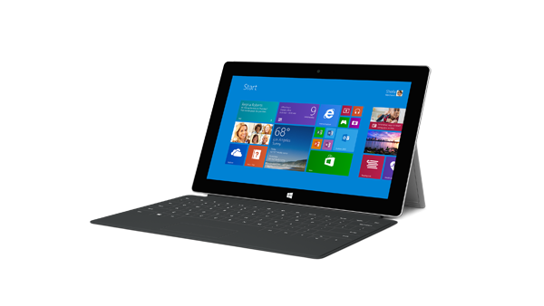 2. Surface 2 with cover