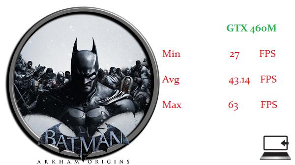 BATMAN GTX460M