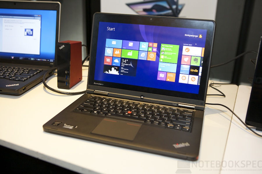 Lenovo Launch ThinkPad Yoga 001