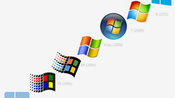 Microsoft Windows logo history