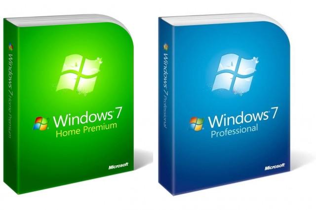 Windows 7 retail copies