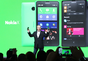 Nokia เปิดตัว Nokia X, Nokia X+ และ Nokia XL สมาร์ทโฟนที่มาพร้อมระบบปฏิบัติการ Android
