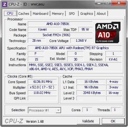 AMD A10 7850K 6137.91 MHz 01 1