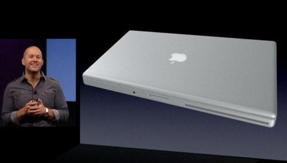 Apple event 20081014 Jony Ive Unibody exterior 001
