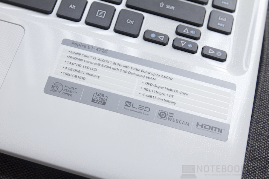 New Acer Aspire E1 Review 008