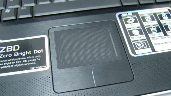 Notebook touchpad 0