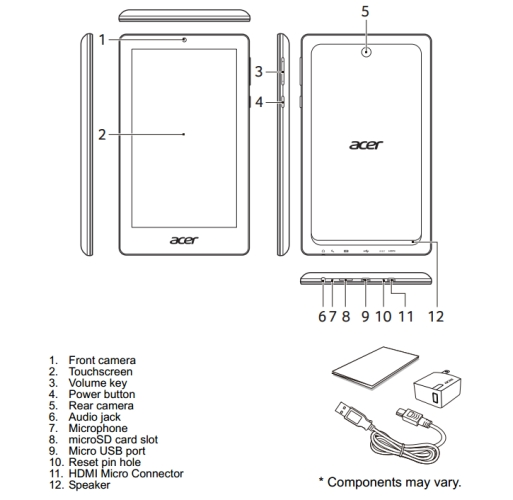 acer iconia one 7 fcc 031