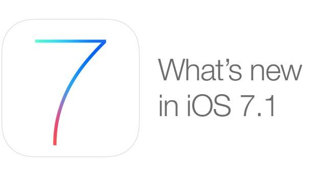 iOS 7.1 featured
