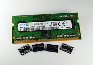 Samsung เริ่มใช้กระบวนการผลิต 20nm กับ 4Gb DDR3 DRAM DIMMs
