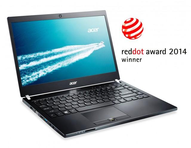 Acer TravelMate P645-Red Dot Award