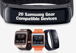 Samsung ประกาศรายชื่ออุปกรณ์ที่รองรับ Gear 2 และ Gear Fit อีก 20 รายการ