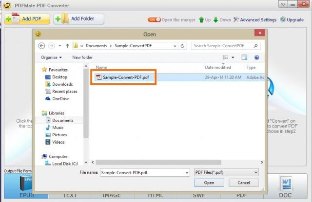 PDFMate PDF Converter Free-1