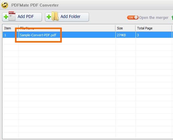 PDFMate PDF Converter Free-2