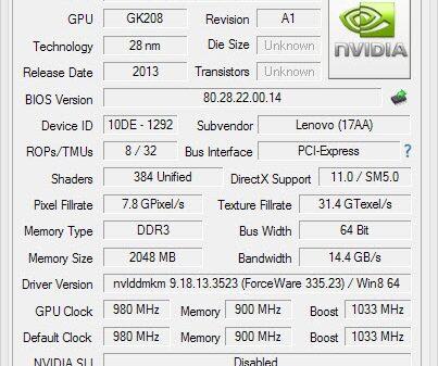 VGA nvidia 4